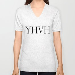 YHVH Unisex V-Neck