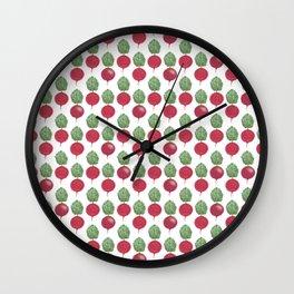 Mini Beetroots Wall Clock