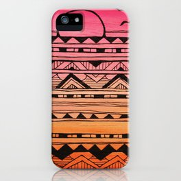 Surf Tribe iPhone Case