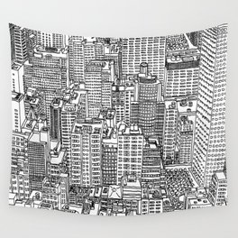 New York View 3 Wall Tapestry