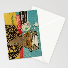 This is Bat Country Stationery Cards