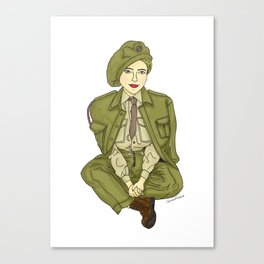 Women at War Canvas Print