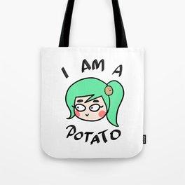 Potato Couple (Female) Tote Bag