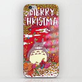 My neighbortotoro christmas tree iPhone Skin
