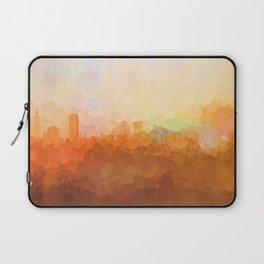 Baton Rouge, Louisiana Skyline - In the Clouds Laptop Sleeve