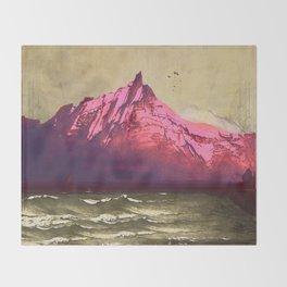 Sea.Mountains.Light . i. Throw Blanket