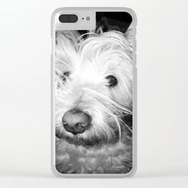 Woke up like this Clear iPhone Case