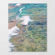 Ocean Waves Fine Art Photography Canvas Print