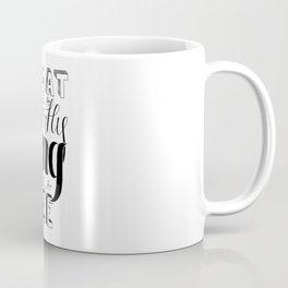 Float & Sting | Ali Quote Print Coffee Mug