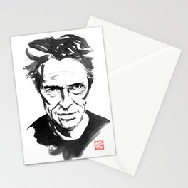 willem dafoe Stationery Cards