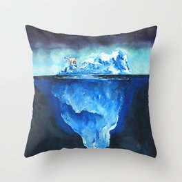 I'm Used To It - Print Throw Pillow