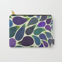 Eggplant's party Carry-All Pouch