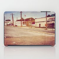 memphis iPad Cases featuring Memphis Street by wendygray