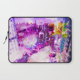 Retro Comic City Laptop Sleeve