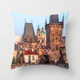 PRAGUE 08 Throw Pillow