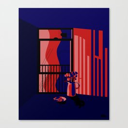 City Shadows Canvas Print