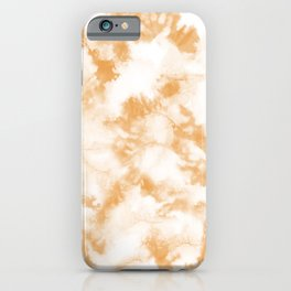 Golden Apricot Tie Dye by Erin Kendal iPhone Case