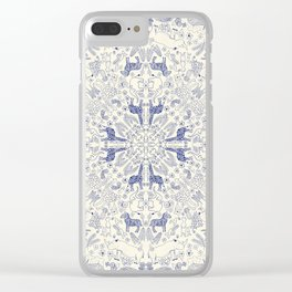 African Porcelain Clear iPhone Case