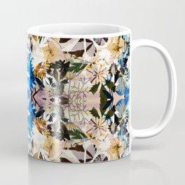 Painted dry pressed flowers Coffee Mug
