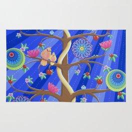 Mandala Tree of Life and Love Rug