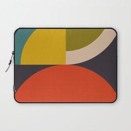mid century bauhaus geometric large 3 Laptop Sleeve