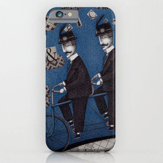 Two Men Travelling iPhone & iPod Case