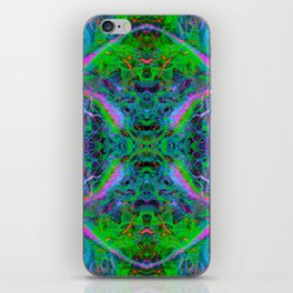 Techno Electric IV (Ultraviolet) iPhone Skin