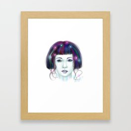 Shine like a star Framed Art Print