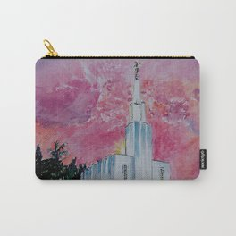 Bern Switzerland LDS Temple Carry-All Pouch