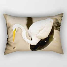Thinking of fish for diner  Rectangular Pillow