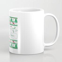 Guitar Christmas Coffee Mug