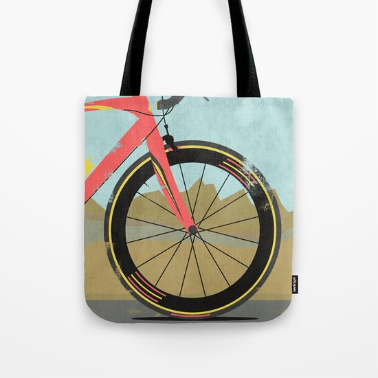 Vuelta a Espana Bike Tote Bag