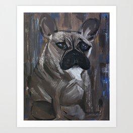 bulldog 1 Art Print