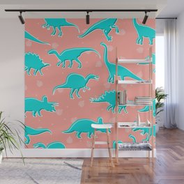 Dino Alley Wall Mural