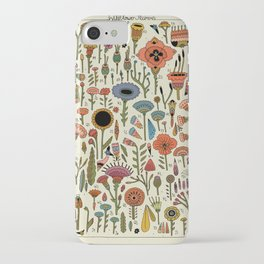 Wildflower Chart iPhone Case