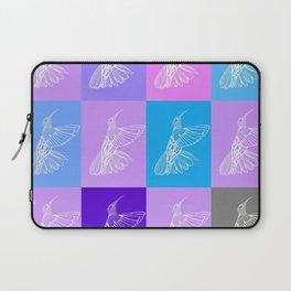 purple hummingbirds Laptop Sleeve