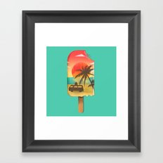 Vacation Time Framed Art Print