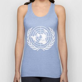 United Nations UN World Peace graphic Unisex Tank Top