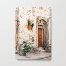 Old street with plants in Bonifacio | Travel Photography France | Fine Art Photo Print Metal Print