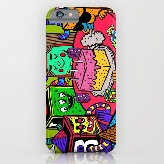 """""""Block Party"""" by Steven Fiche iPhone & iPod Case"""