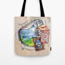 Language of Light Workshop Tote Bag