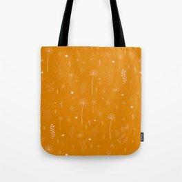 Wild botanical pattern Tote Bag