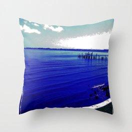 Verano Fresco Throw Pillow