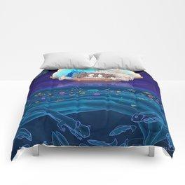 Sleeping Creativity (commission) Comforters