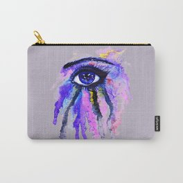 Blue eye splashing Carry-All Pouch