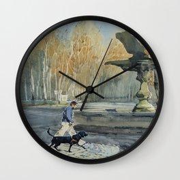 Paseo de Carlos III Wall Clock