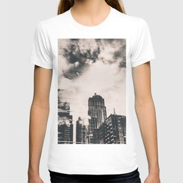Pike Place Market Dock City Reflection T-shirt