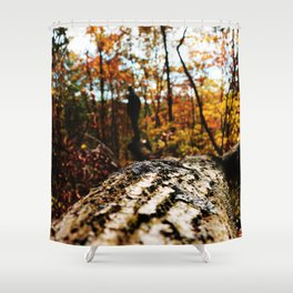 On Edge Shower Curtain