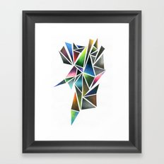 Digital Stone Framed Art Print