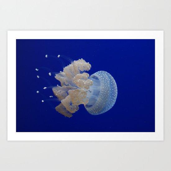 JellyFishi Art Print